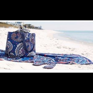 """Vera Bradley Beach Towel """"Fireworks Paisley"""""""
